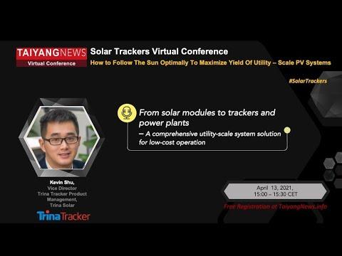 TrinaTracker at TaiyangNews Solar Trackers Virtual Conference