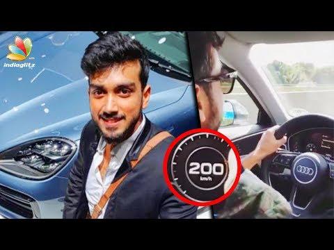 കാളിദാസിന്റെ സ്വപ്നം സഫലമായി | Kalidas Jayaram drove a car at 200 km/hr | Malayalam News