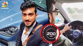 കാളിദാസിന്റെ സ്വപ്നം സഫലമായി   Kalidas Jayaram drove a car at 200 km/hr   Malayalam News