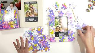 Marly Bird Kids Craft Camp: Puzzle jewelry and picture frame