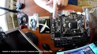 материнская плата ASRock B85M DGS. Распаковка и микро обзор