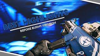BEST HIGHLIGHTS (BEFORE BURNT HORIZON) - Rainbow Six Siege