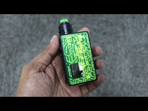 The 20K by PMM - 20700 Engraved Squonk Mod