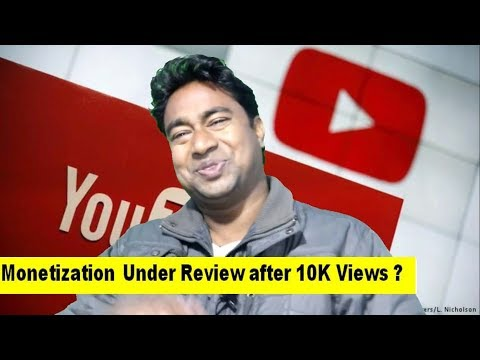 Youtube Monetization not Enabled after 10K Views ? Still Under Review !Problem & Solution