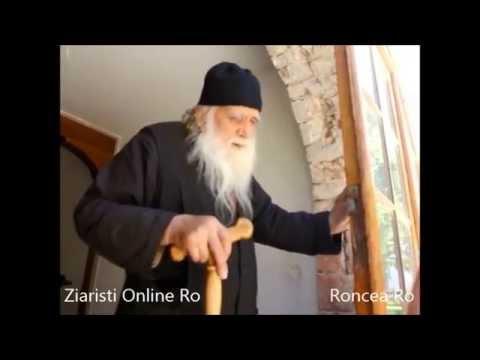 Parintele Iulian Prodromitul - Mic Cuvant Duhovnicesc - Rusaliile 2014 la Sf. Munte Athos