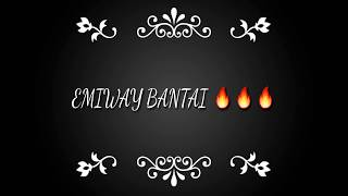 EMIWAY BANTAI-GIRAFTAAR (LYRICS VIDEO) by TimePass