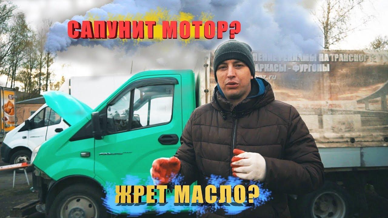 Почему САПУНИТ и ЖРЕТ масло дизельный двигатель Газель Некст. Картерные газы. Раскоксовка