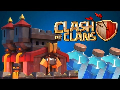 Clash of Clans - FULL UPDATE REVIEW! Level 7 Lightning, New Lava Walls Level 11! September 2015!