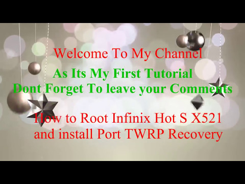 Look-through of the infinix hot 2 Android M and Xposed Installer..