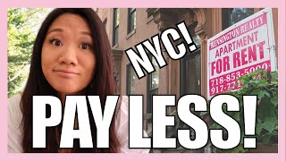 HOW TO FIND CHEAP RENT in New York City (3 TIPS TO SAVE MONEY ON RENT IN NYC!)   LIVING IN NEW YORK