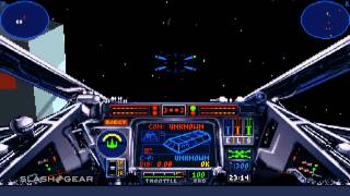 X-Wing Special Edition gameplay for review (1993 / 2014)