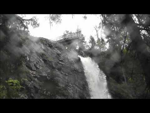 Plodda Falls near Tomich