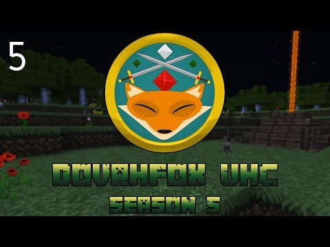 "UHC Minecraft | Dovafox Season 5 | ""The Killer Bunny Trap"" | UHC EP 5"