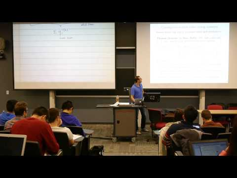 Lecture 25 (part 2): Fast stochastic methods