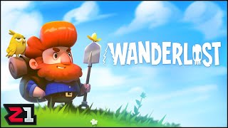 Cutest ZOMBIE Survival Game?! Wanderlost First 30 | Z1 Gaming