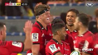 Super Rugby 2019 Round Two: Crusaders vs Hurricanes