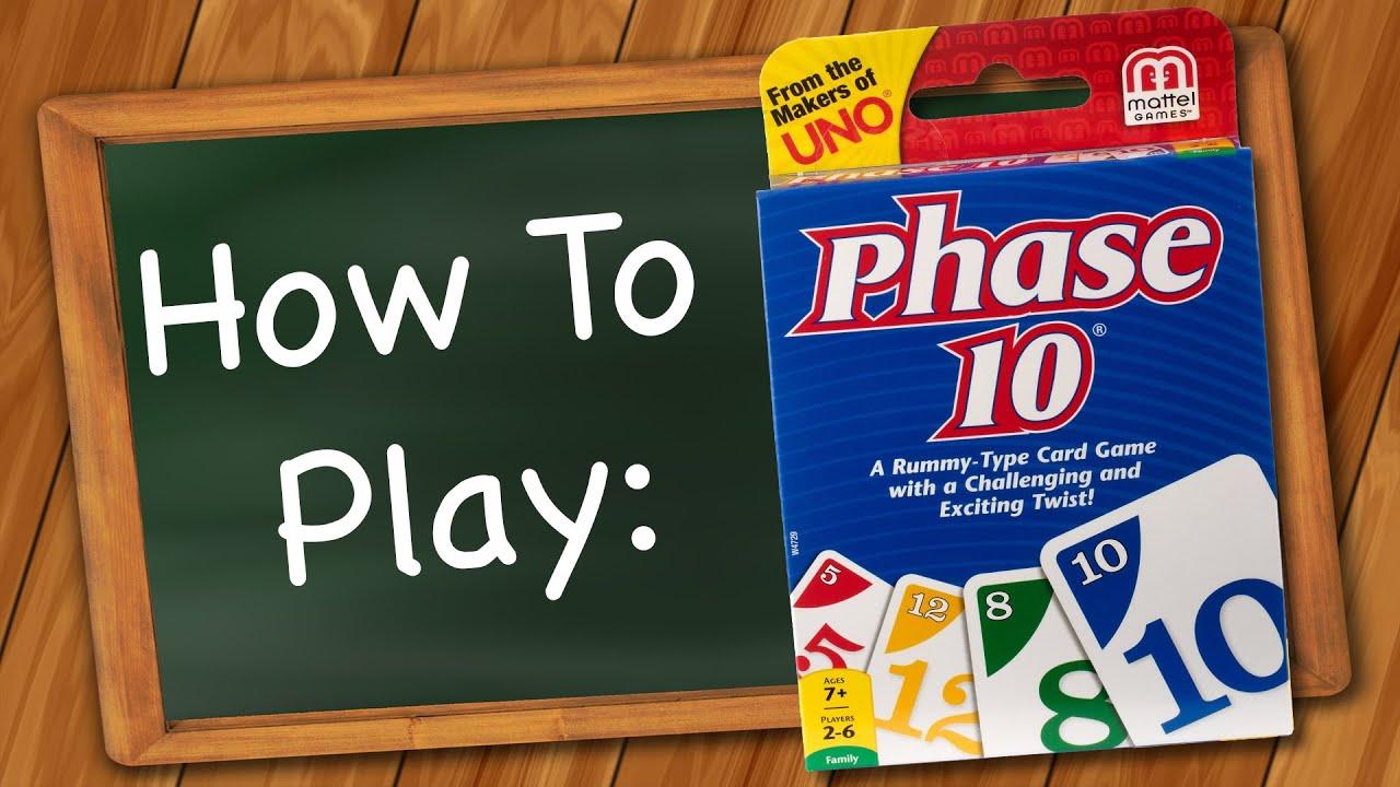 phase 10 rules mattel
