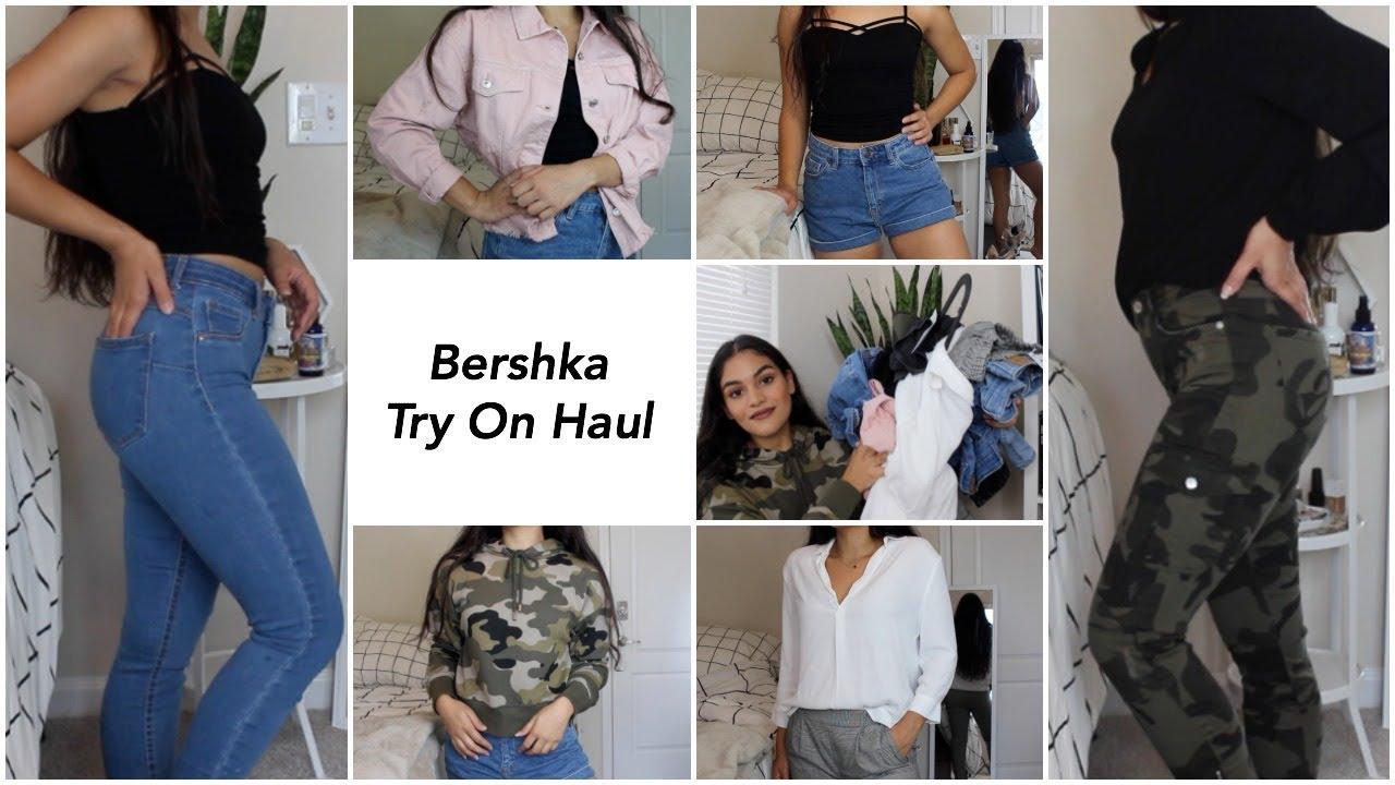 0f1b8519ef40 BERSHKA (US) TRY ON HAUL - YouTube