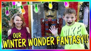 OUR WINTER WONDER FANTASY | We Are The Davises