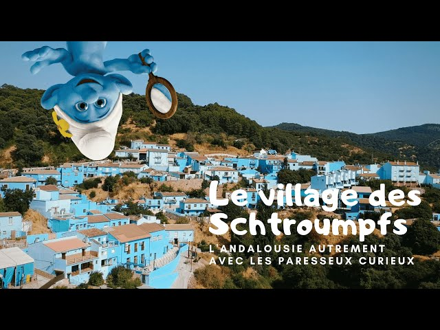 [Voyage] Juzcar le village des schtroumpfs en Espagne [Drone]