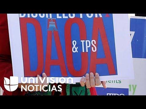 Congresistas demócratas presentarán proyecto de ley que beneficiaría a amparados por DACA y el TPS