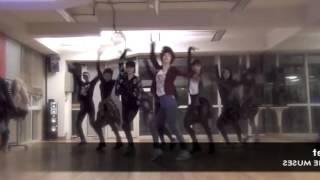 Nine Muses 'Ticket' mirrored Dance Practice