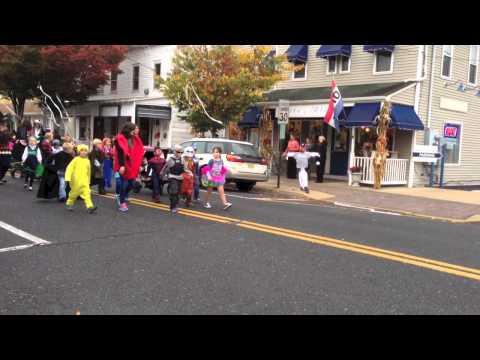 Manasquan Elementary School Halloween Parade 2014