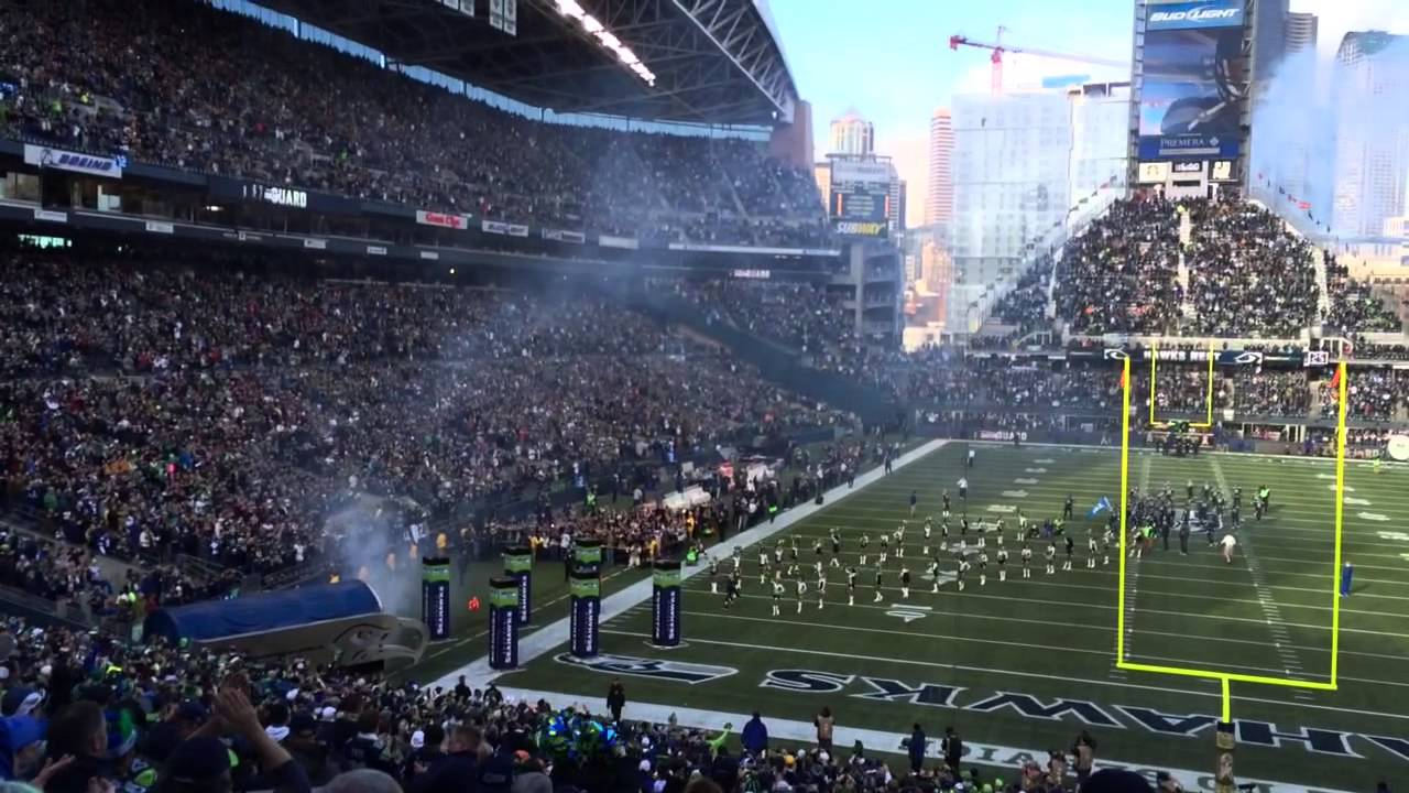 Seattle Seahawks Home Intro - YouTube