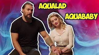 Amber Heard Can 39 T Stop Flirting With Jason Momoa Aquaman