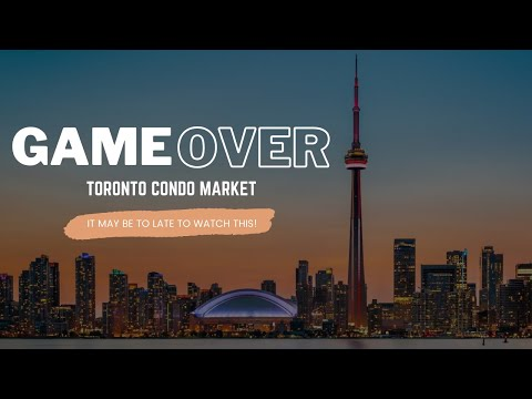 WHY I TOLD MY SON NEVER TO BUY A CONDO - 2017 TORONTO CONDO MARKET UPDATE