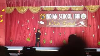 Tukur tukur by aariz muhammad kids festival