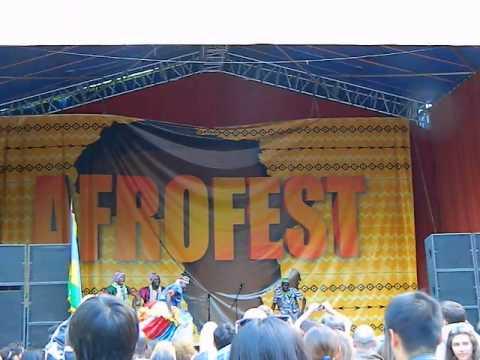 Африканские танцы на Афрофест