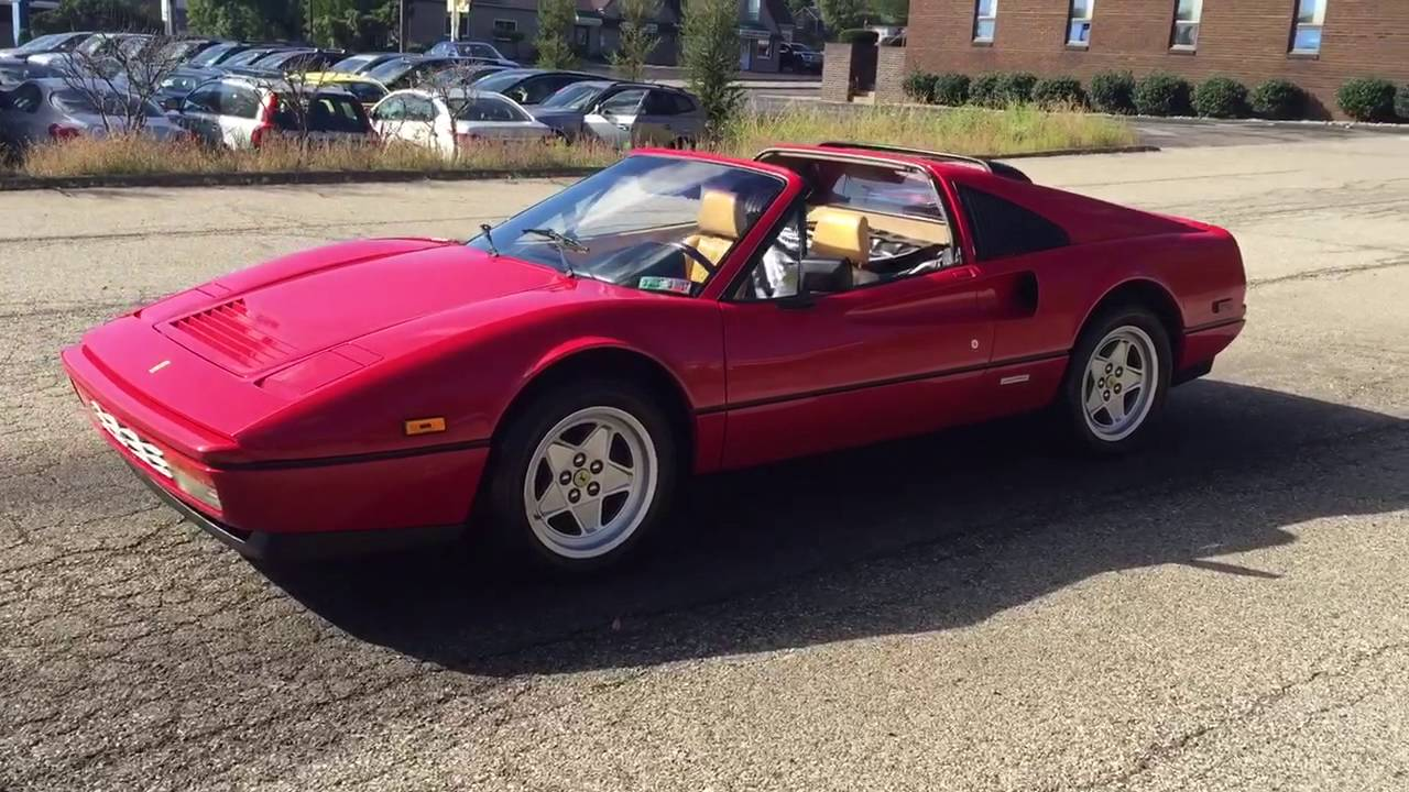 1986 ferrari 328 gts for sale - youtube
