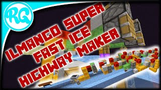 Super Fast ilmango Ice Highway maker ( Block By Block tutorial) 1.16.2+