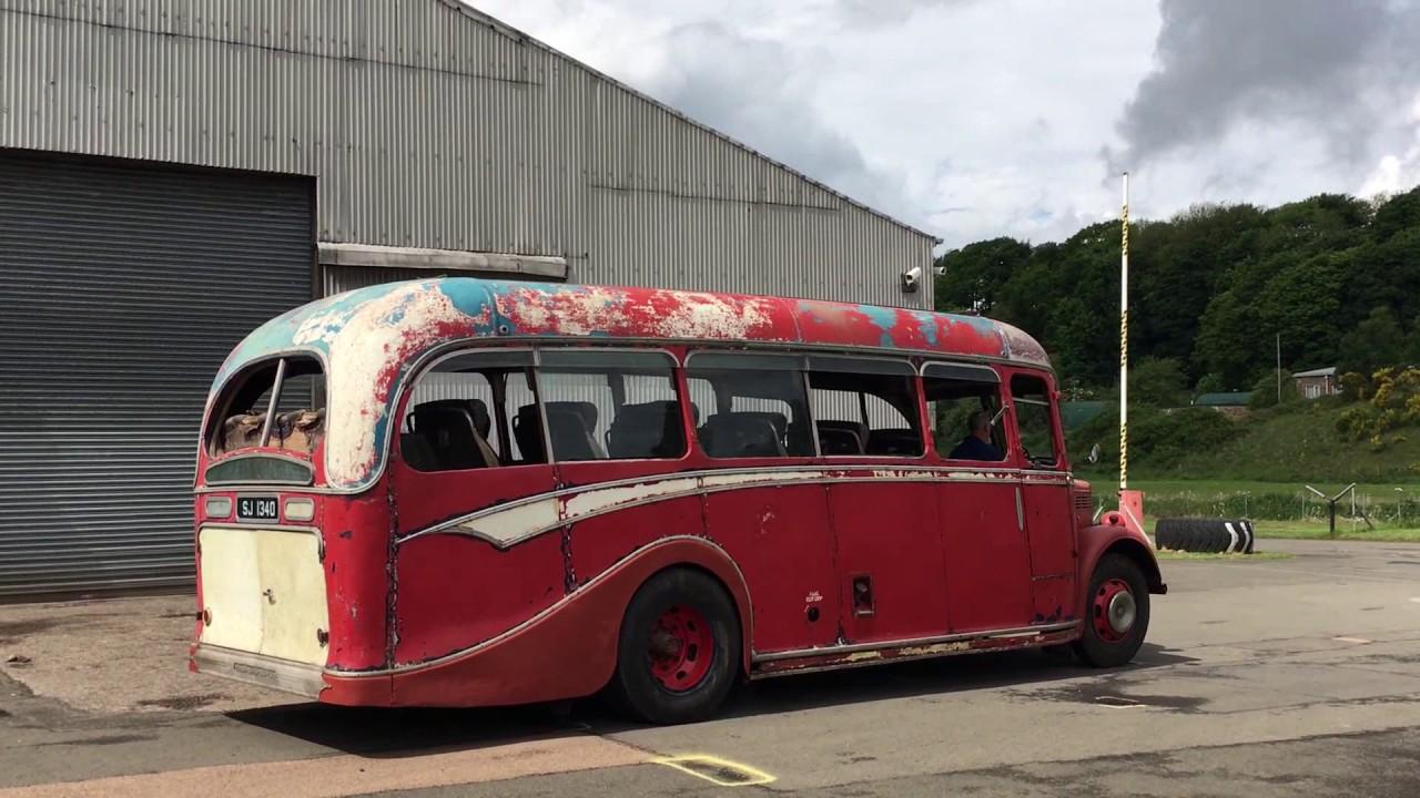 Bedford Ob At The Scottish Vintage Bus Museum