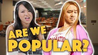 WERE WE POPULAR IN HIGH SCHOOL? - Lunch Break!