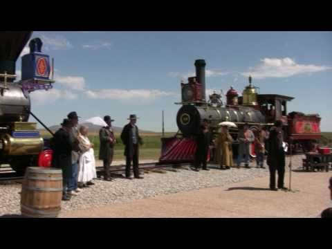 Transcontinental Railroad Golden Spike - You Are There