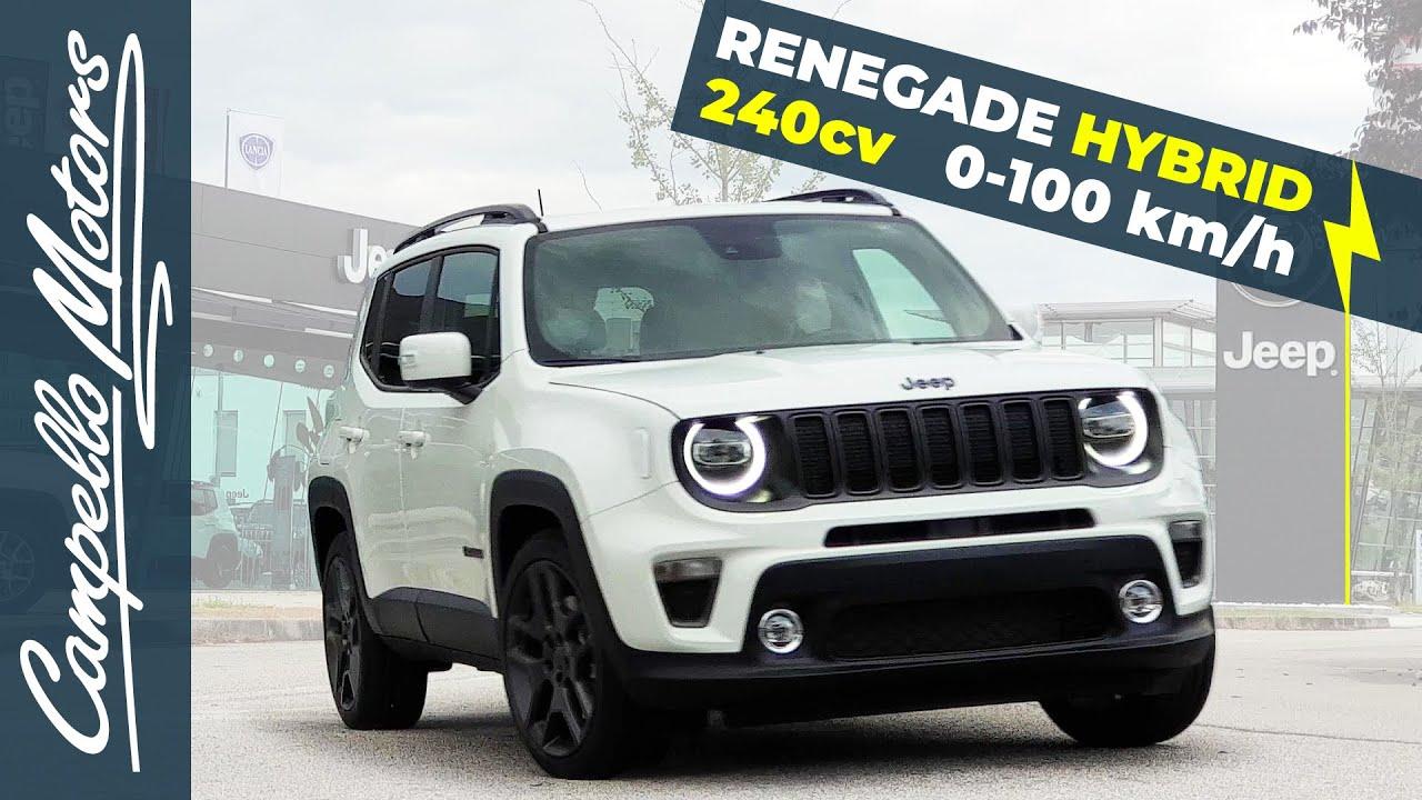Jeep Renegade Ibrida 240cv Accelerazione 0 100 Km H Campello
