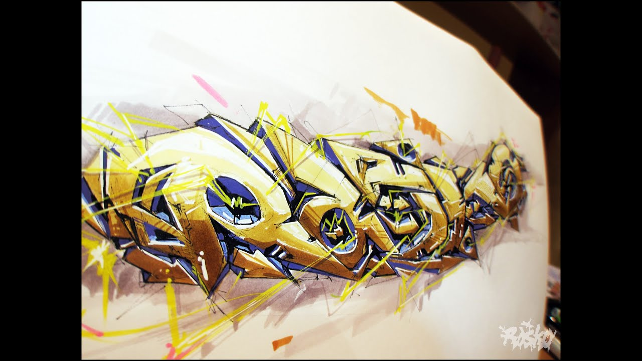 Mad Drawing Rasko. Graffiti Art 2013