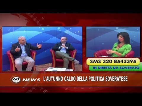 60 news 8 ottobre 2015 Matacera e Severino su waterfront