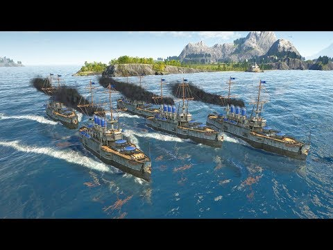 anno-1800-|-ep.-18-|-ultimate-warships-invade-|-anno-1800-city-builder-tycoon-sandbox