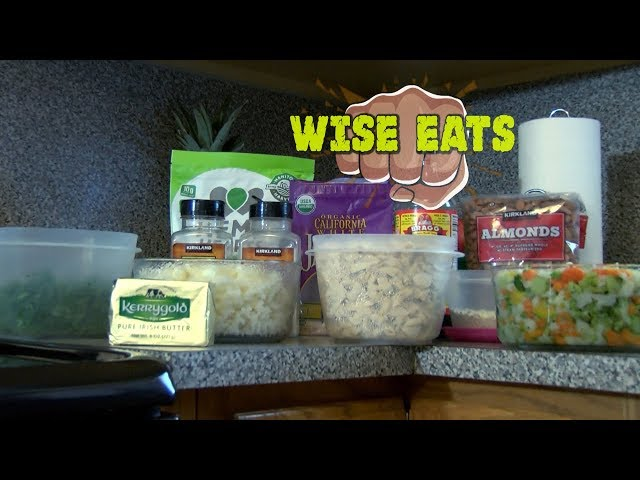 Wise Eats - Chicken Wise Rice – Healthy Chinese Chicken Fried Rice Recipe