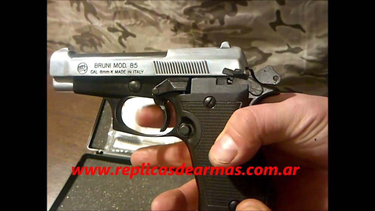 BERETTA 85 MIX II DE FOGUEO www replicasdearmas com ar -  ventas@replicasdearmas com ar