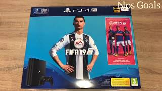 Unboxing PS4 Pro 1TB FIFA 19 Console