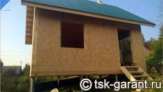 Строительство дачного дома из СИП-панелей в Голованово (Пермь)