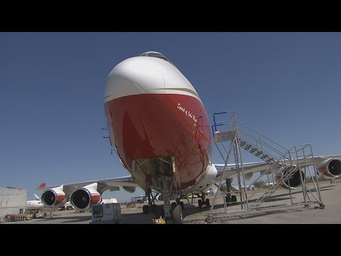 World's largest air tanker on the sidelines as AZ fires burn