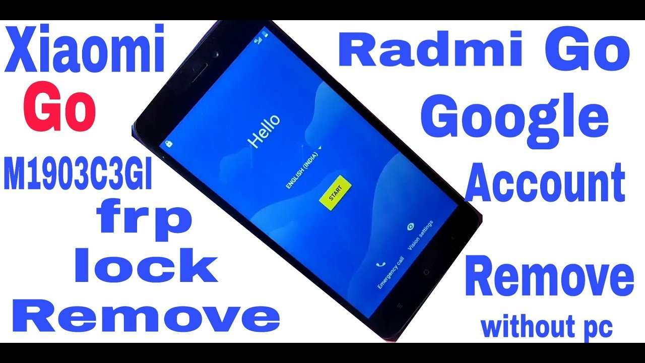 Xiaomi Radmi Go frp unlock ( M1903C3GI ) - Самые лучшие видео