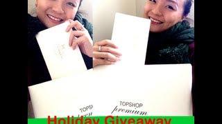 Holiday Fashion Giveaway Coach and Topshop- CLOSED Thumbnail