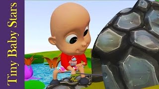 12345 Once I Caught A Fish Alive   Nursery Rhymes   Kids Song in HD from Tiny Baby Stars