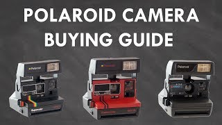 Vintage POLAROID Camera BUYING GUIDE